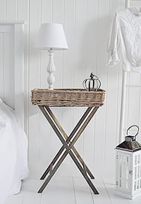 Cornwall Grey bedside table