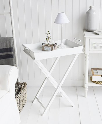 White Living Room furniture from Cove Bay range