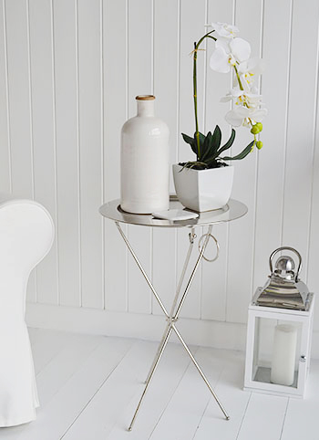 Kensington Silver Tray Table