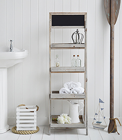 Nautical and Coast Bathroom Furniture and Storage Cabinets