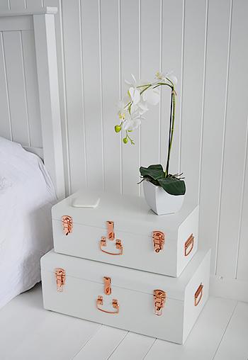 Nantucket white furniture - New England style