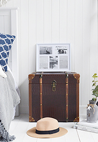 Panama vintage travel trunk