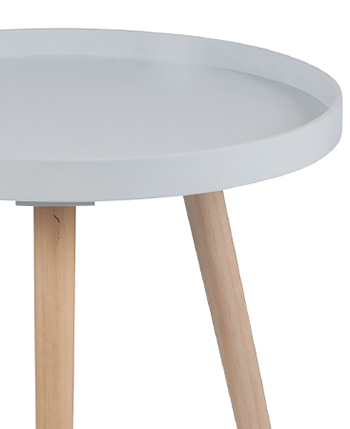 Portland grey table, perfect bedside table, coffee table or side table