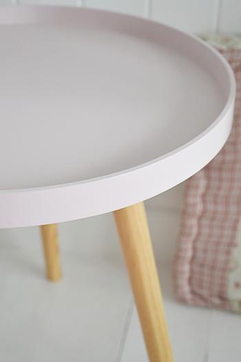Portland Pink bedside or lamp table