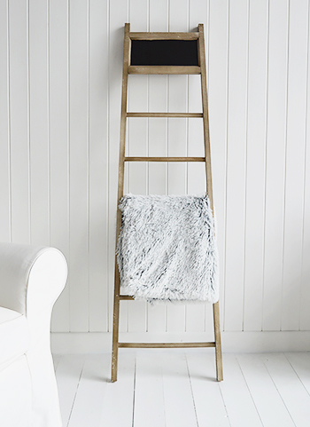 Scandinavian interior design - Blanket stand