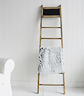 blanket throw ladder