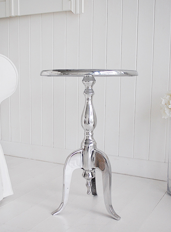 Kensington Silver Furniture, A Small Side Table