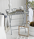 Grayswood Folding Tray Table. Simple but elegant design of a lamp table and display to suit all styles of home interiors