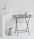 Grayswood Folding Tray Table for bathroom