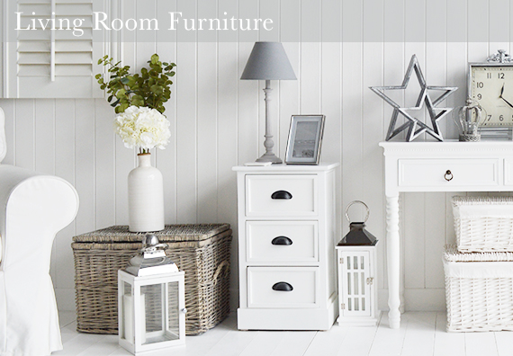 White Living Room Furniture form The White Lighthouse
