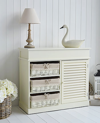 Hamptons Cream Sideboard for living room furniture