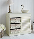 Hamptons cream sideboard chest