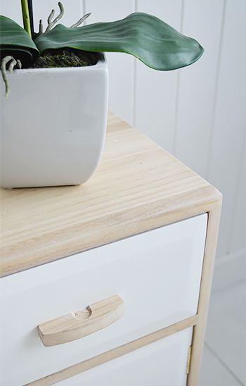 The Hamptons sideboard with drawers and cupboard