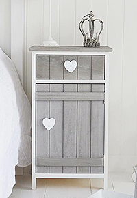http://www.thewhitelighthousefurniture.co.uk/hallway-furniture/heart-cottage-grey-bedside-lamp-cupboard.htm