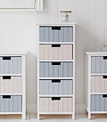 Beach hall storage tallboy freestanding