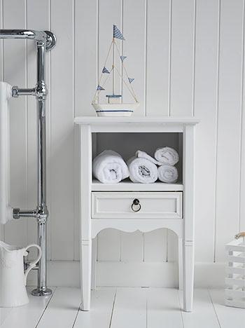Coastal beach house bathroom furniture for homes by the sea