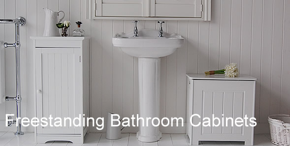 White Free Standing Bathroom Cabinet Cabinets For Bathroom Storage