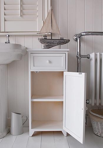 free standing bathroom shelves slim bathroom storage cabinet with