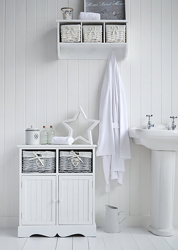 hampshire white bathroom cabinet double cupboard white bathroom