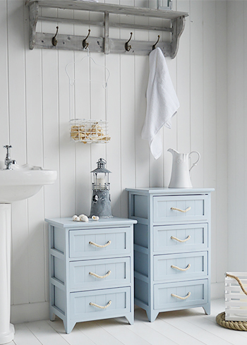 Huntingtom bathroom furniture , the 3 drawer bathroom cabinet and 4drawers storage