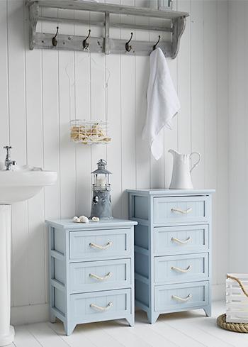 Huntington Beach Bathroom Cabinet 4 Drawers For Nautical