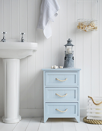 Huntington Nautical blue bathroom cabinet