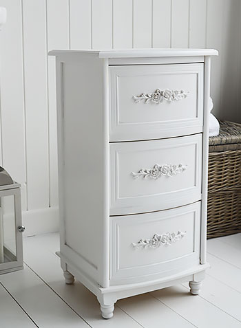 Rose white bathroom cabinet form The White Lighthouse