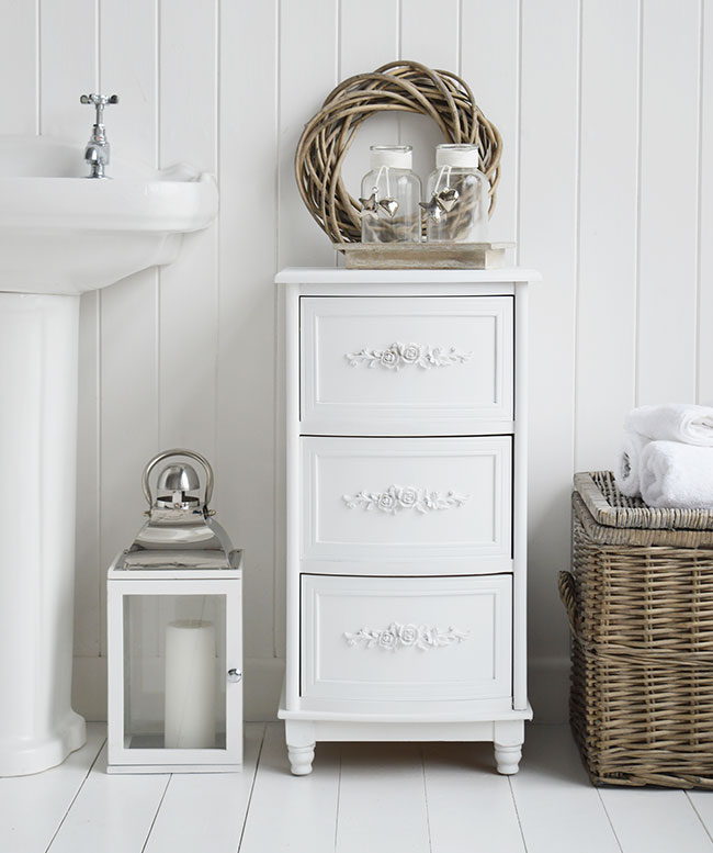 bathroom cabinets white rose bathroom cabinet