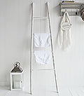 New Hampshire white towel ladder