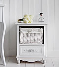 White Rose bedside table