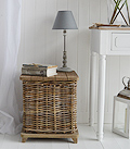 Willow Storage Bedside Table