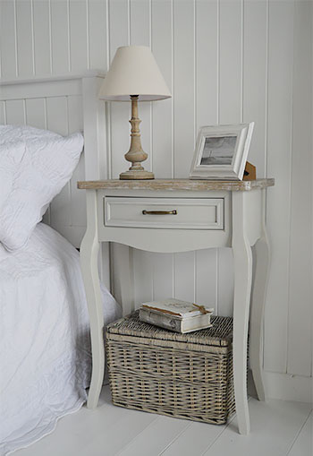 Large bedside table from Bridgport furniture