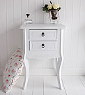 Daisy White Bedside Cabinet