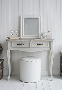 Bridgeport Grey Large Dressing Table