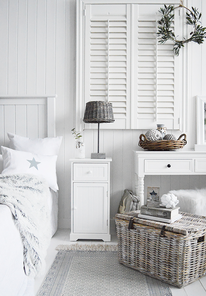 Maine white bedroom furniture. White Bedroom Furniture. An ideal bedside table for any style of New England Coastal or country bedroom