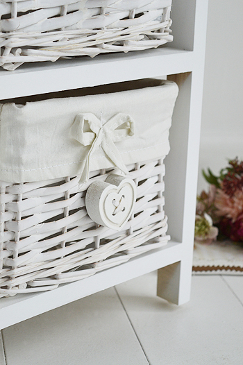 Sweetheart White basket bedroom furniture