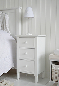 White Bedside Table white bedside table and cabinets. bedroom furniture