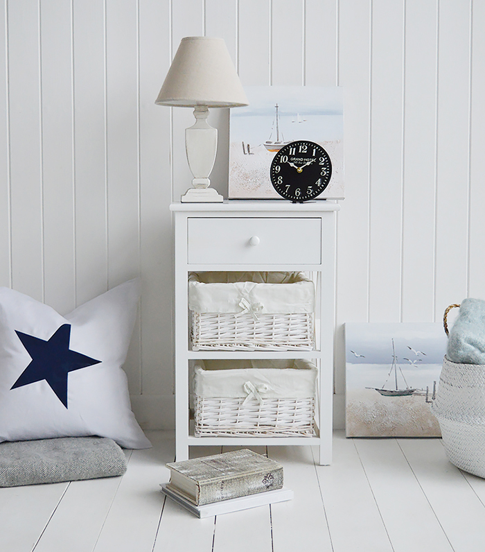 Add coastal home decor accessories in the interior