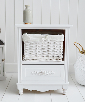 White Rose bedroom furniture