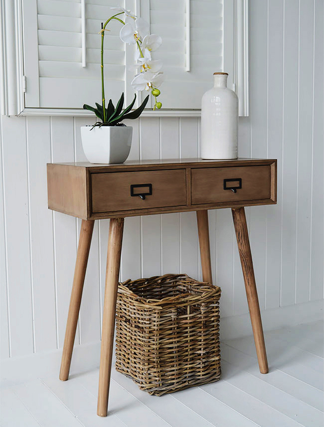 Dressing table for small Scandinavian bedroom furniture