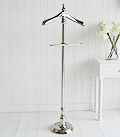 Kensington Silver Valet clothes stand