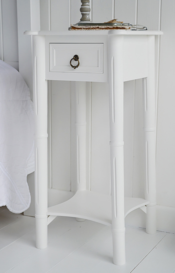 Large close view of the nightstand