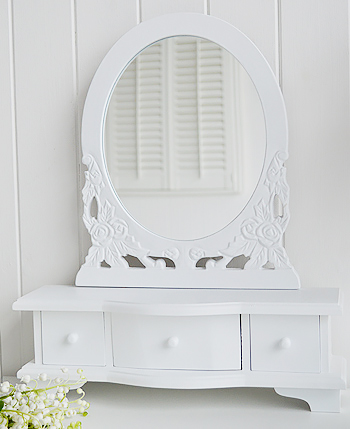 White Dressing Table Mirror White Bedroom Furniture